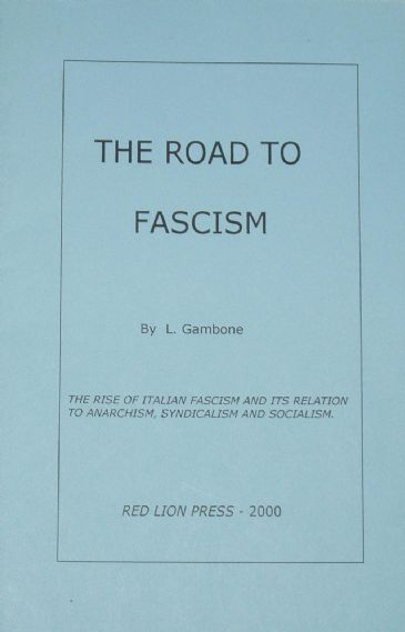 The Road to Fascism, by L. Gambone